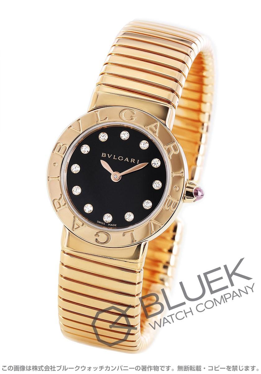 ブルガリ ブルガリブルガリ トゥボガス ダイヤ PG金無垢 腕時計 レディース BVLGARI BBLP262TBGG/12.M