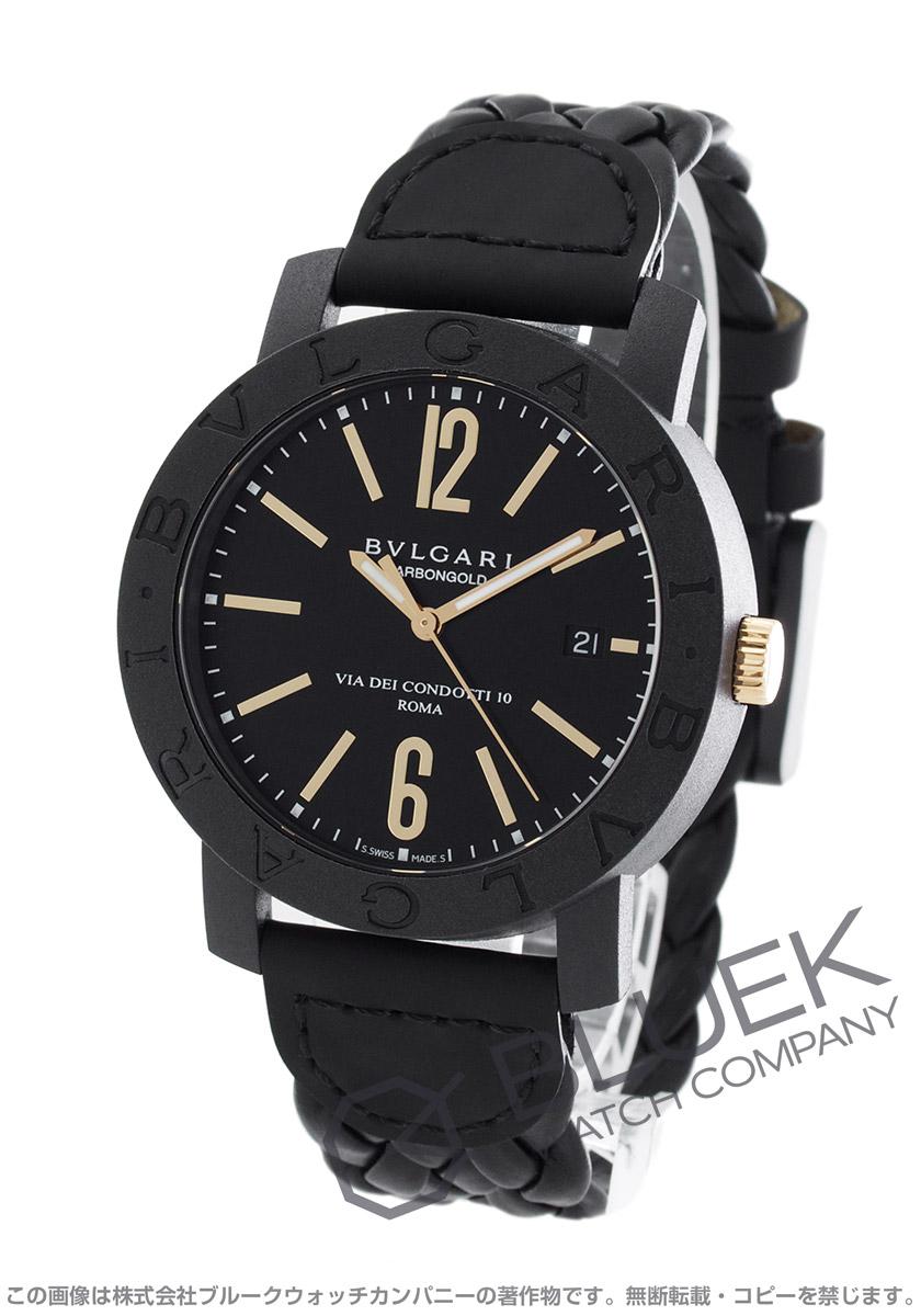 ブルガリ ブルガリブルガリ カーボンゴールド 腕時計 メンズ BVLGARI BBP40BCGLD/N