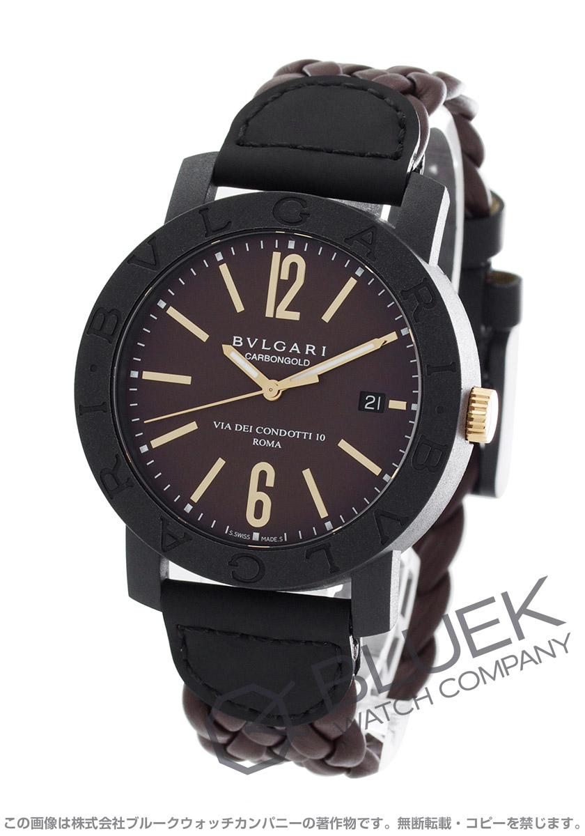 ブルガリ ブルガリブルガリ カーボンゴールド 腕時計 メンズ BVLGARI BBP40C11CGLD