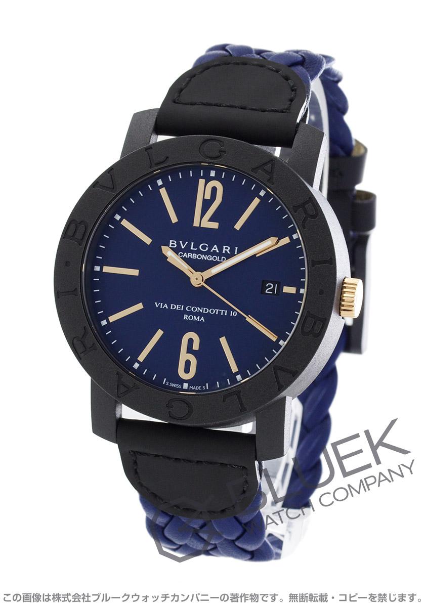ブルガリ ブルガリブルガリ カーボンゴールド 腕時計 メンズ BVLGARI BBP40C3CGLD