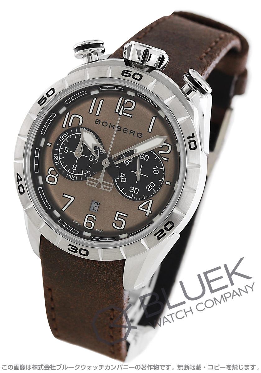 ボンバーグ BB-68 ブラウン クロノグラフ 腕時計 メンズ BOMBERG NS44CHSS.206.9