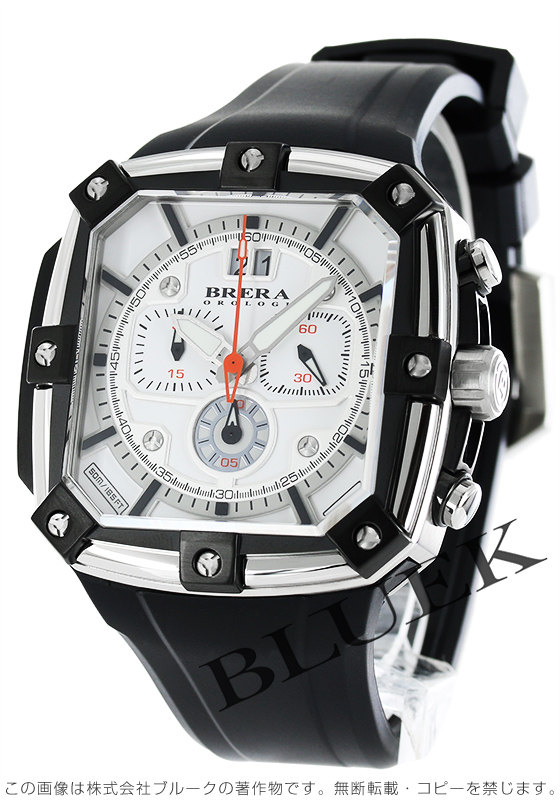 ブレラ スーパー スポルティーボ スクエア クロノグラフ 腕時計 メンズ BRERA BRSS2C4604
