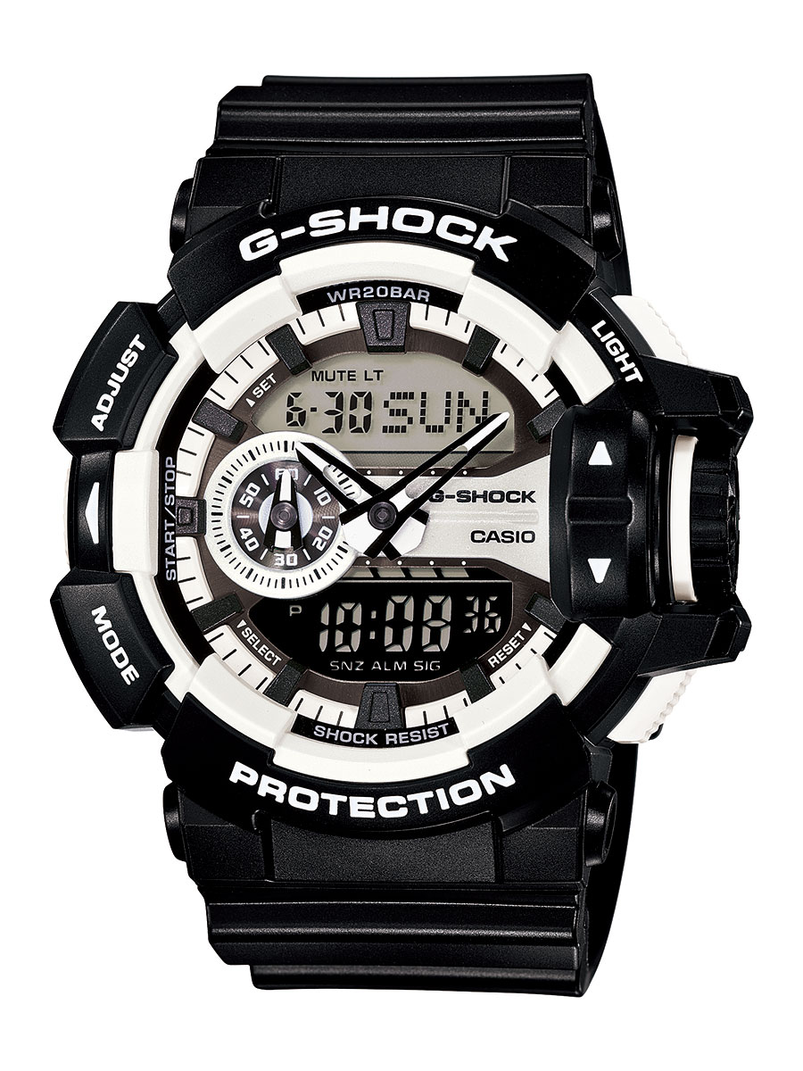 カシオ G-SHOCK ハイパー・カラーズ クロノグラフ 腕時計 メンズ CASIO GA-400-1AJF