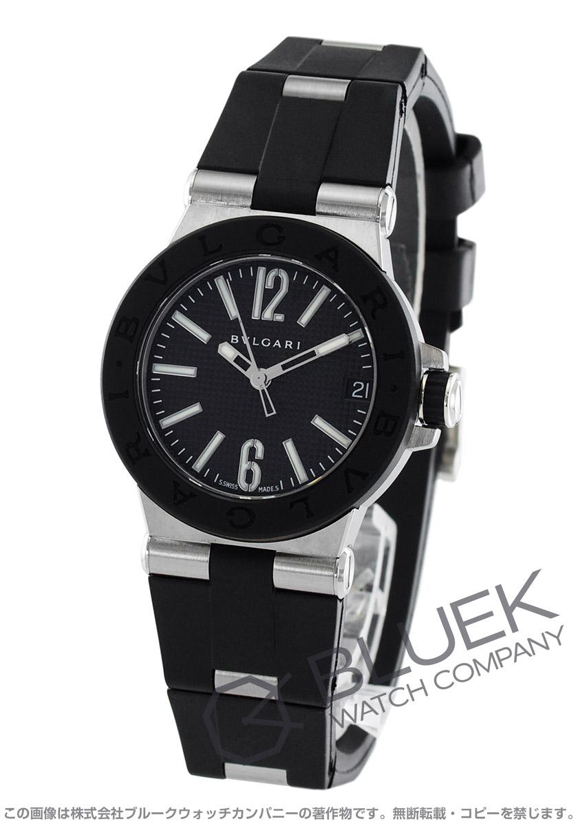 ブルガリ ディアゴノ ラバー 腕時計 レディース BVLGARI DG29BSVD