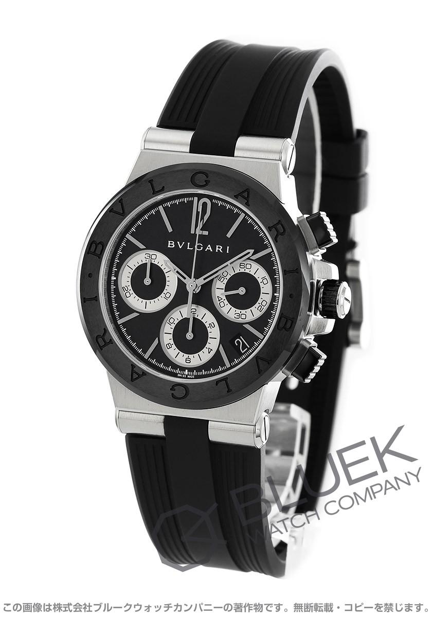ブルガリ ディアゴノ セラミック クロノグラフ 腕時計 メンズ BVLGARI DG37BSCVDCH
