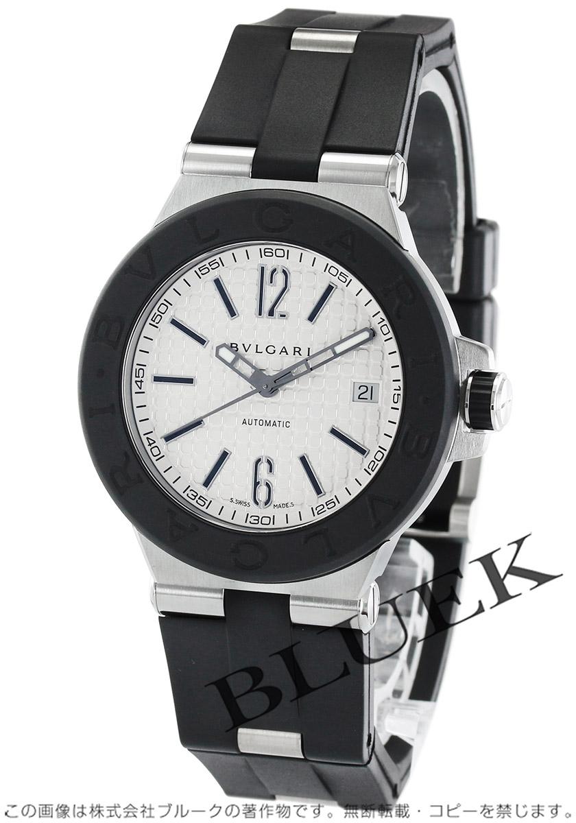 25f1355b06aa ブルガリ ディアゴノ ラバー 腕時計 メンズ BVLGARI DG40C6SVD_8 ...