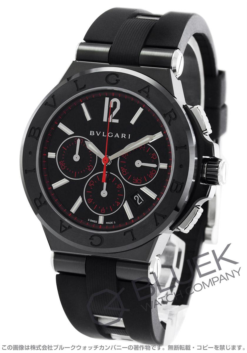 ブルガリ ディアゴノ ウルトラネロ クロノグラフ 腕時計 メンズ BVLGARI DG42BBSCVDCH/1