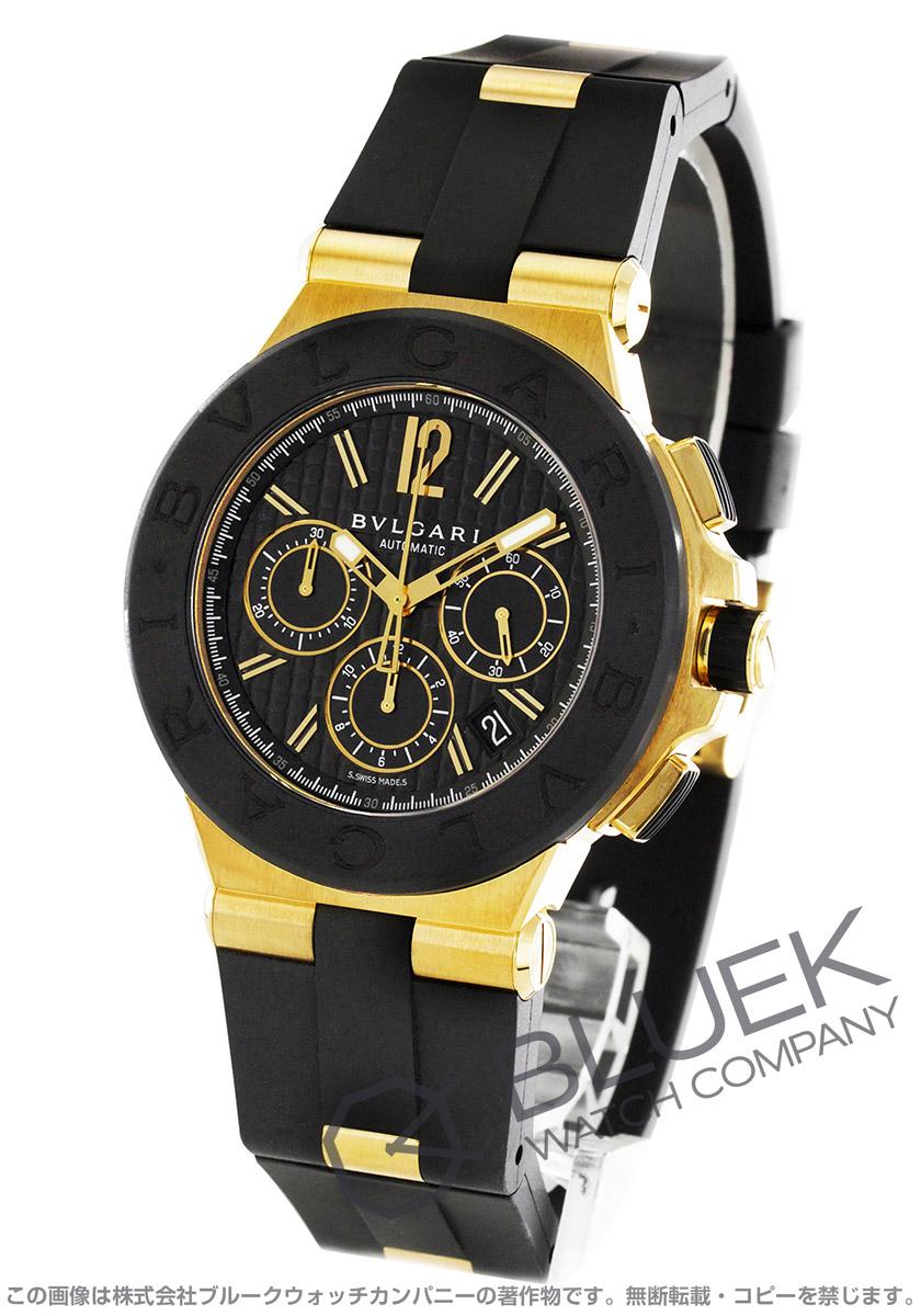 ブルガリ ディアゴノ クロノグラフ 腕時計 メンズ BVLGARI DG42BGVDCH