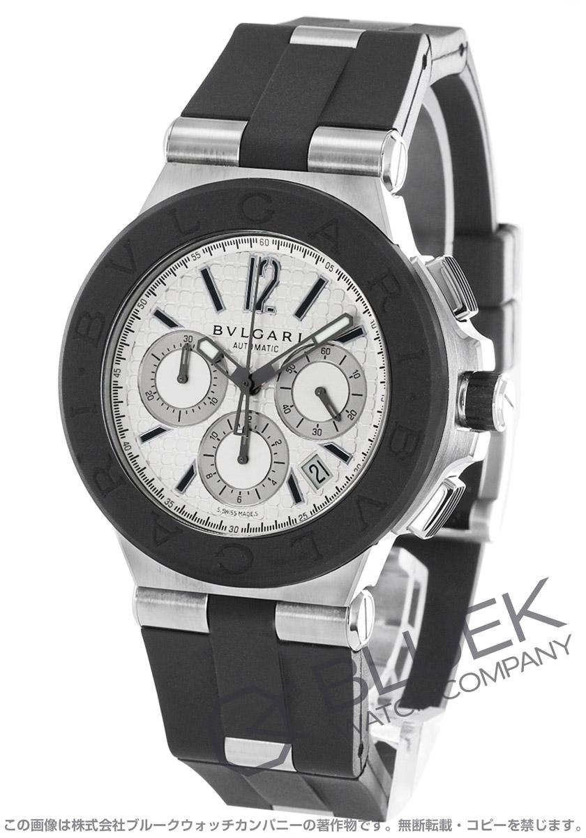 super popular f4a9d 98c4b ブルガリ ディアゴノ クロノグラフ 腕時計 メンズ BVLGARI ...