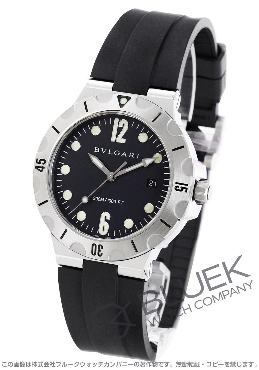 ブルガリ ディアゴノ プロフェッショナル スクーバ 300m防水 腕時計 メンズ BVLGARI DP41BSVSD