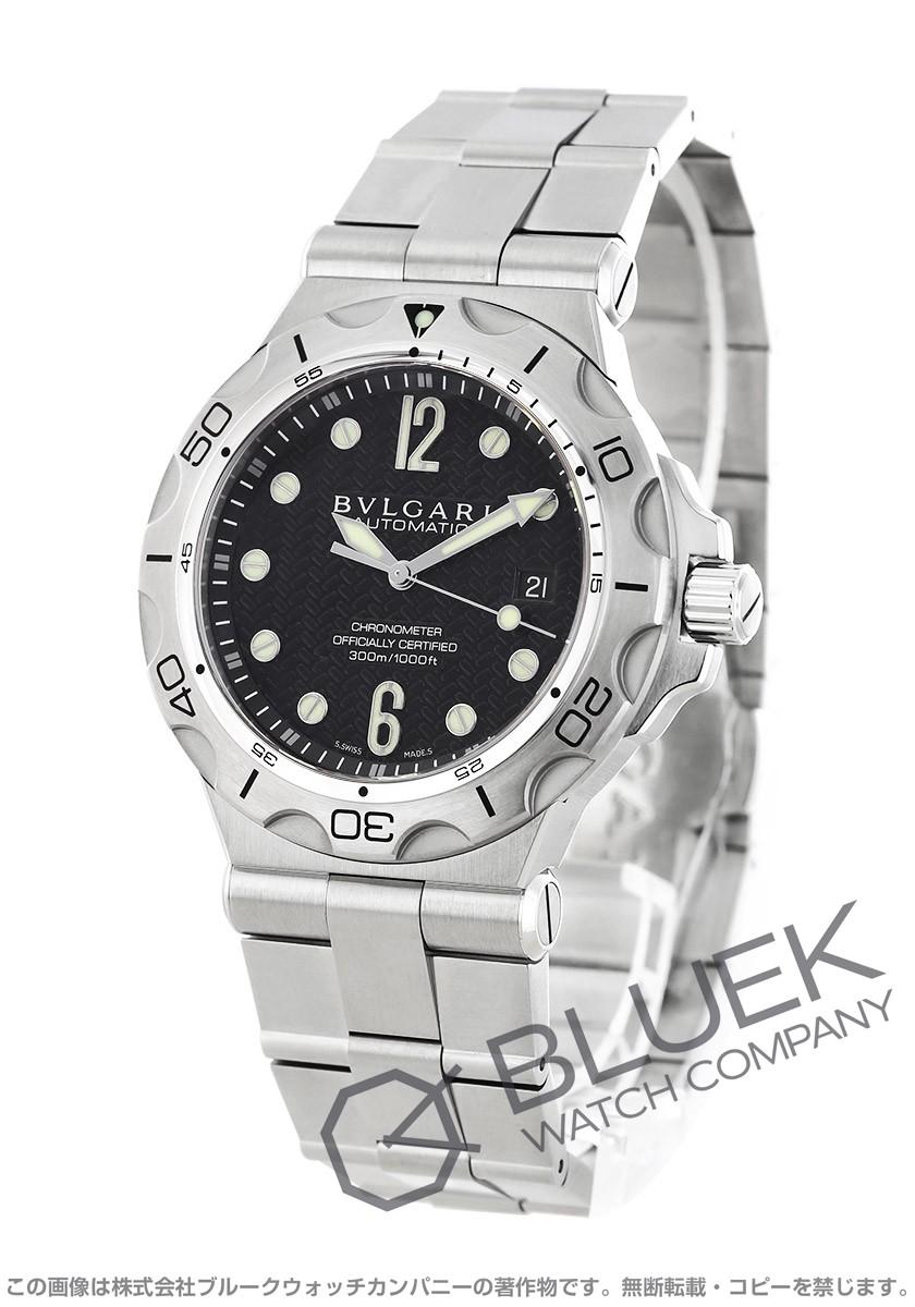 ブルガリ ディアゴノ プロフェッショナル アクア 300m防水 腕時計 メンズ BVLGARI DP42BSSDSD