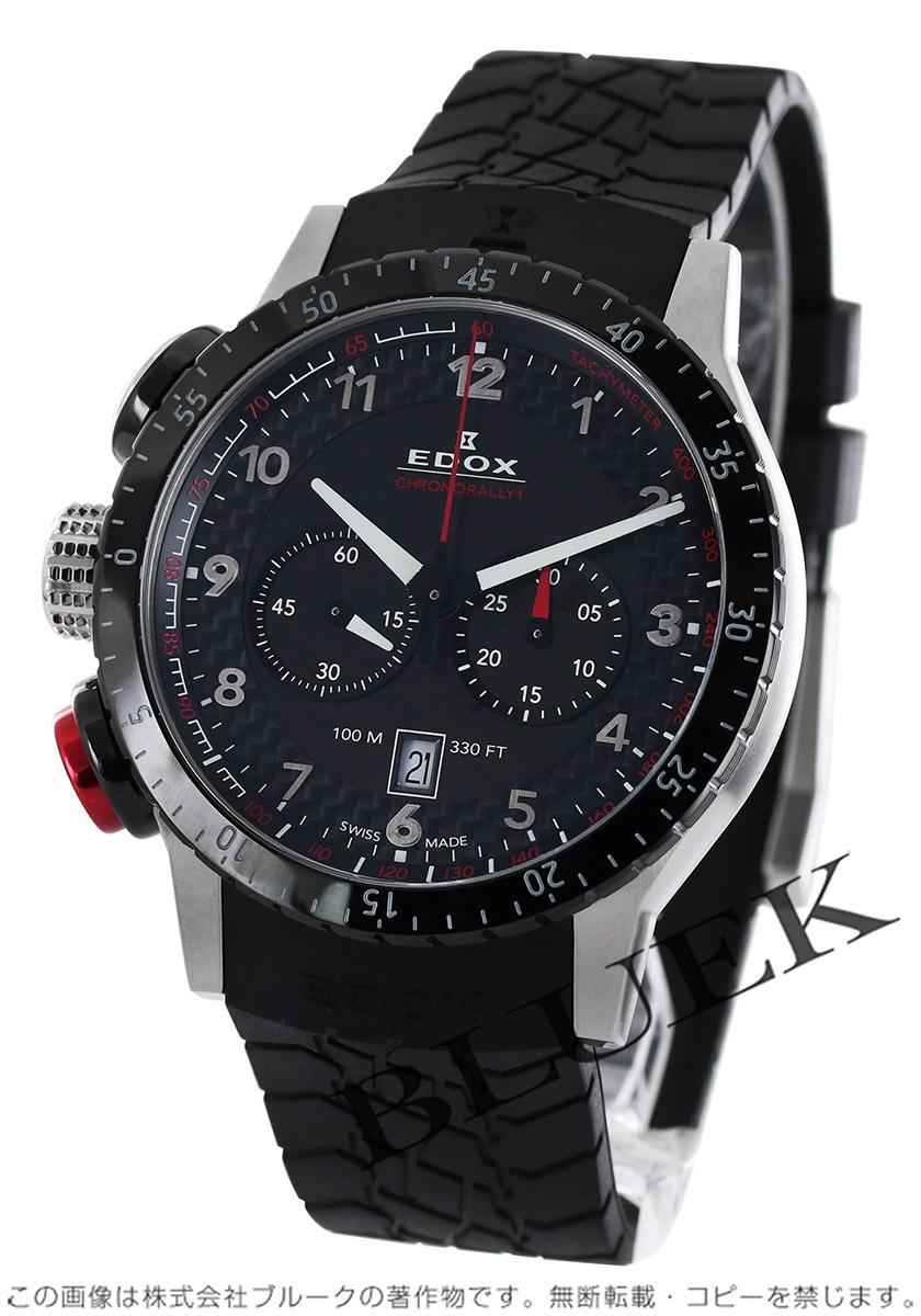 エドックス クロノラリー1 クロノグラフ 腕時計 メンズ EDOX 10305-3NR-NR