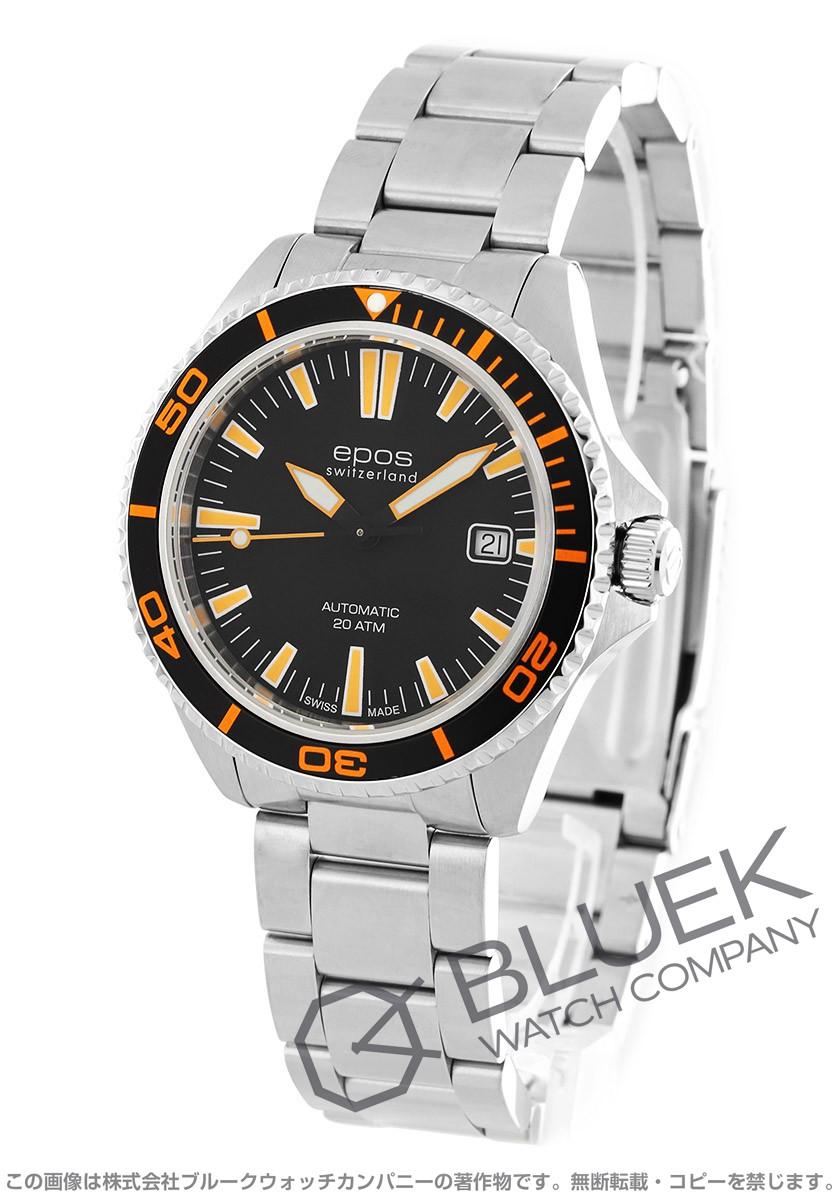 エポス スポーティブ 腕時計 メンズ EPOS 3413BKORM