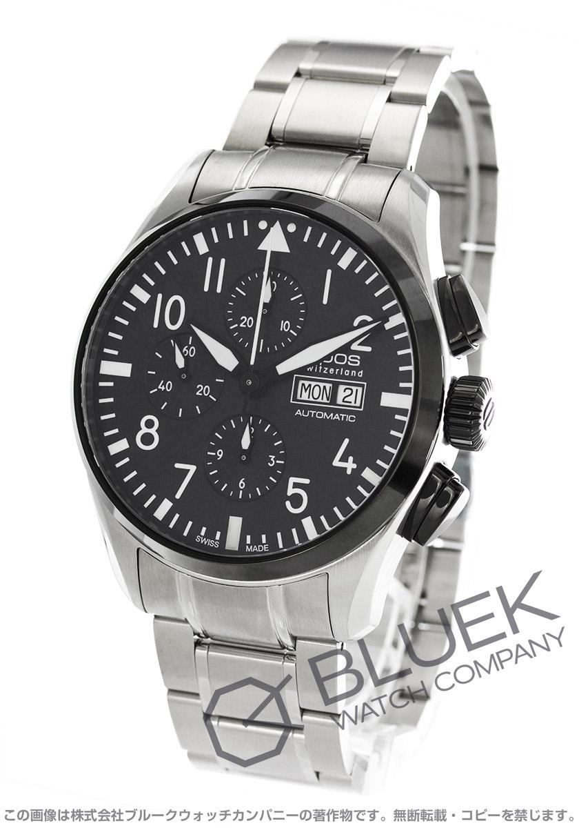 エポス スポーティブ 3433 パイロット クロノグラフ 腕時計 メンズ EPOS 3433SBKABKM