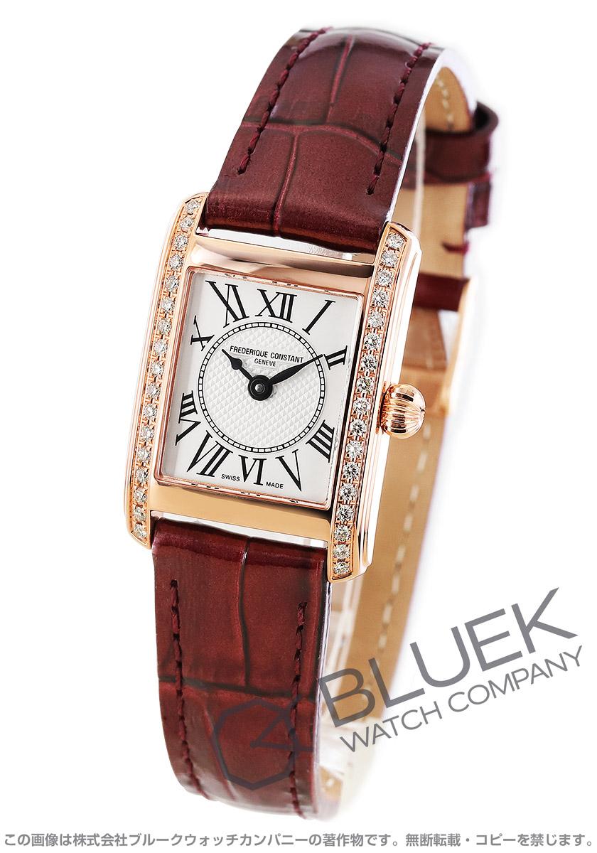 フレデリックコンスタント クラシック カレ ダイヤ 腕時計 レディース FREDERIQUE CONSTANT 200MCD14