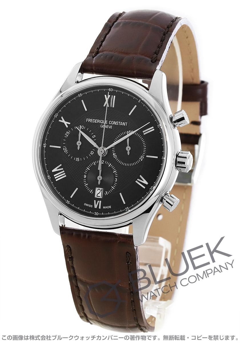 フレデリックコンスタント クラシック クロノグラフ 腕時計 メンズ FREDERIQUE CONSTANT 292MB5B6DBR