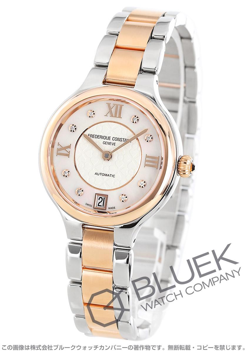 フレデリックコンスタント クラシック ディライト ダイヤ 腕時計 レディース FREDERIQUE CONSTANT 306WHD3ER2B