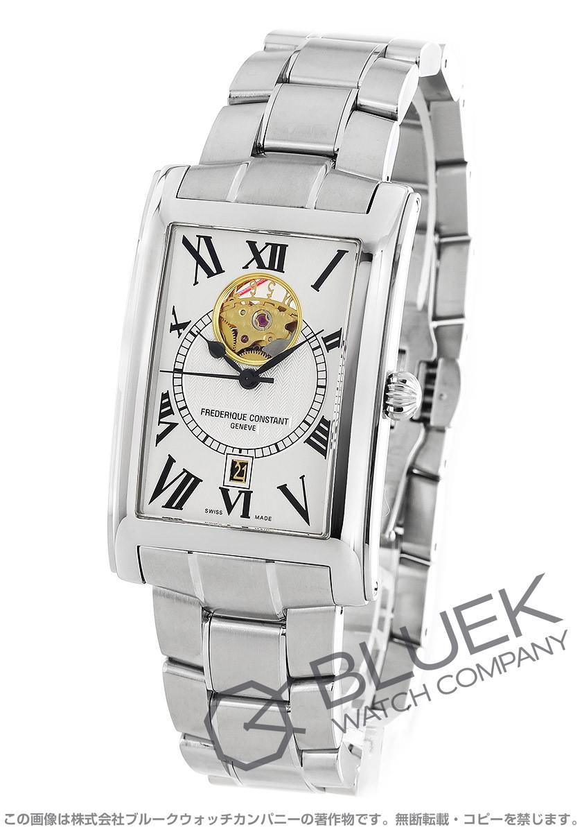 フレデリックコンスタント FREDERIQUE CONSTANT 腕時計 クラシック カレ ハートビート メンズ 315MS4C26B