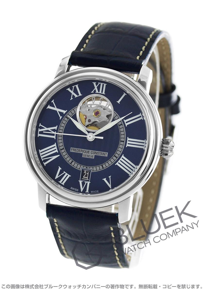 フレデリックコンスタント クラシック ハートビート 腕時計 メンズ FREDERIQUE CONSTANT 315NS3P6