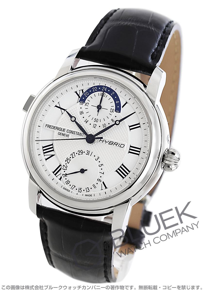 フレデリックコンスタント ハイブリッド マニュファクチュール アリゲーターレザー 腕時計 メンズ FREDERIQUE CONSTANT 750MC4H6