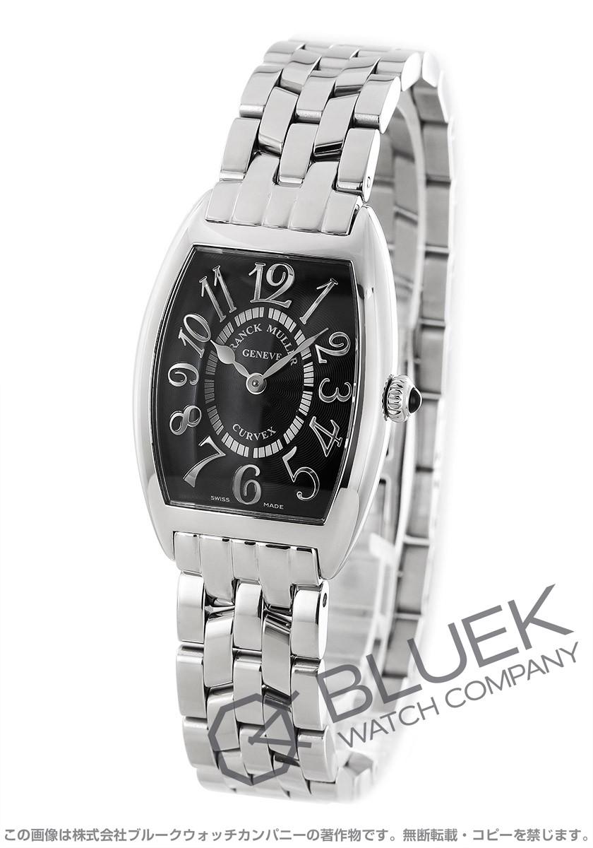 フランクミュラー トノーカーベックス レリーフ 腕時計 レディース FRANCK MULLER 1752 B QZ REL[FM1752QZSSBKR]