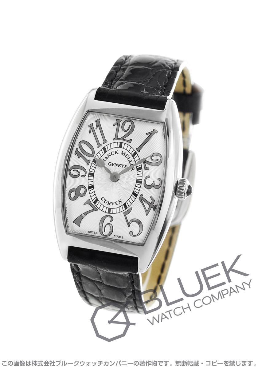competitive price 07959 b075c フランクミュラー トノーカーベックス レリーフ クロコレザー 腕時計 レディース FRANCK MULLER 1752 QZ REL