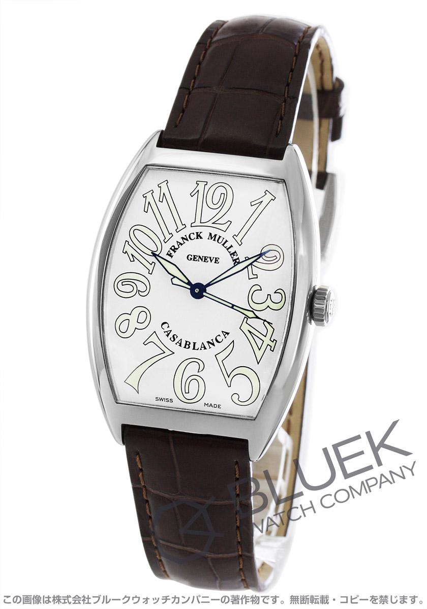 best service 541af 4d0f4 フランクミュラー カサブランカ クロコレザー 腕時計 メンズ FRANCK MULLER 6850 B C CASABLANCA