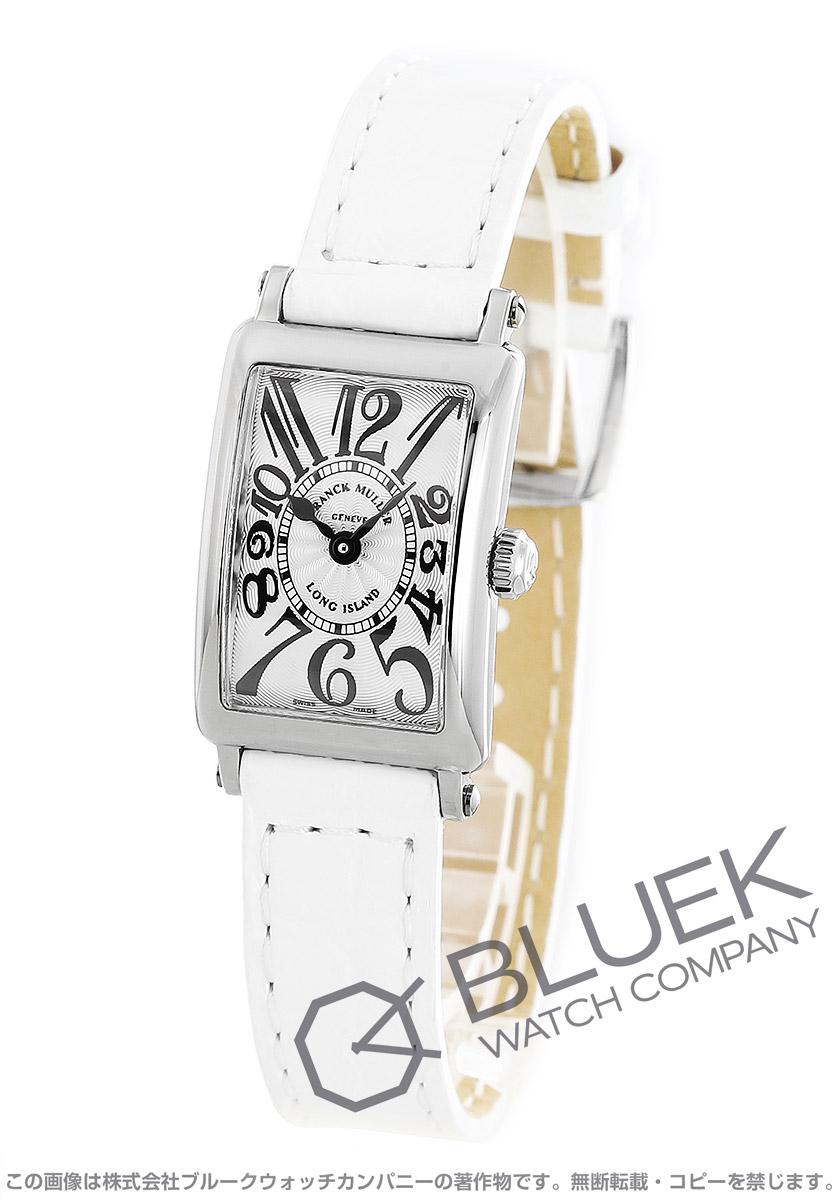 フランクミュラー ロングアイランド プティ クロコレザー 腕時計 レディース FRANCK MULLER 802 QZ[FM802QZSSSLENWH]