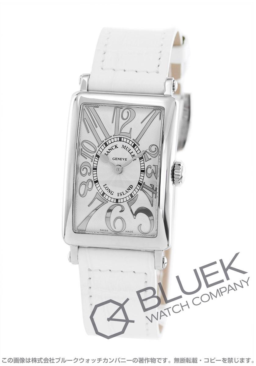 フランクミュラー ロングアイランド レリーフ クロコレザー 腕時計 レディース FRANCK MULLER 902 QZ REL