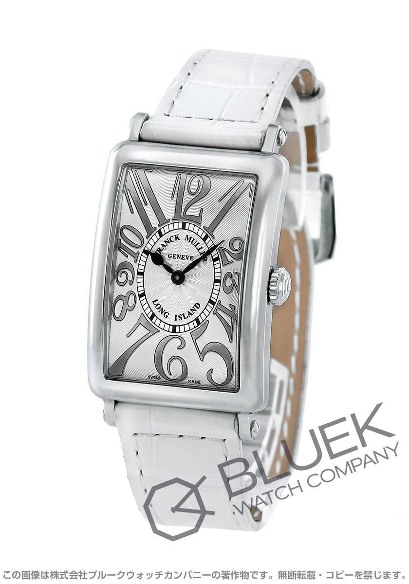 best cheap e379f d41e5 【数量限定特価】フランクミュラー ロングアイランド レリーフ クロコレザー 腕時計 レディース FRANCK MULLER 952 QZ REL