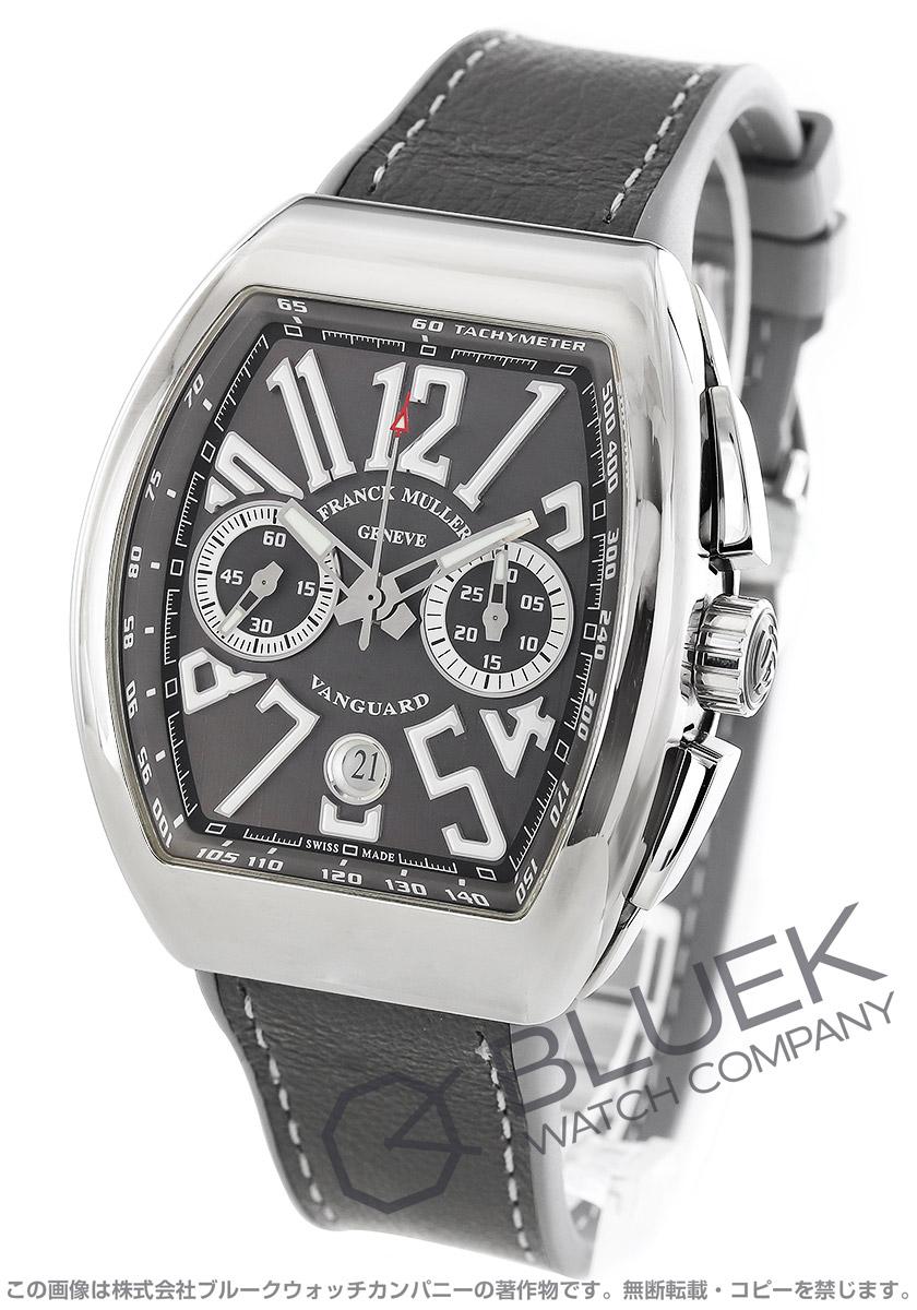 フランクミュラー ヴァンガード クロノグラフ 腕時計 メンズ FRANCK MULLER V 45 CC DT AC TT