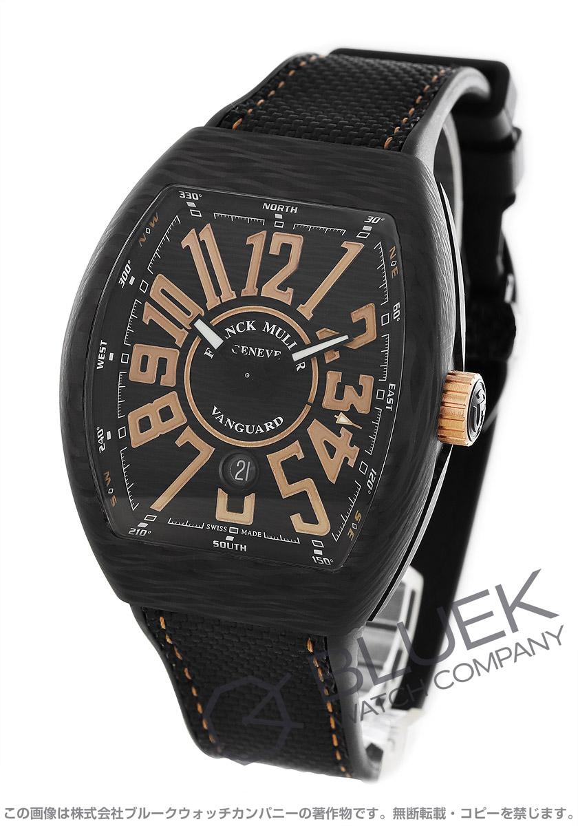 フランクミュラー ヴァンガード 腕時計 メンズ FRANCK MULLER V 45 SC DT CARBON NR[FMV45SCBRCRNRBKPGHYBK]