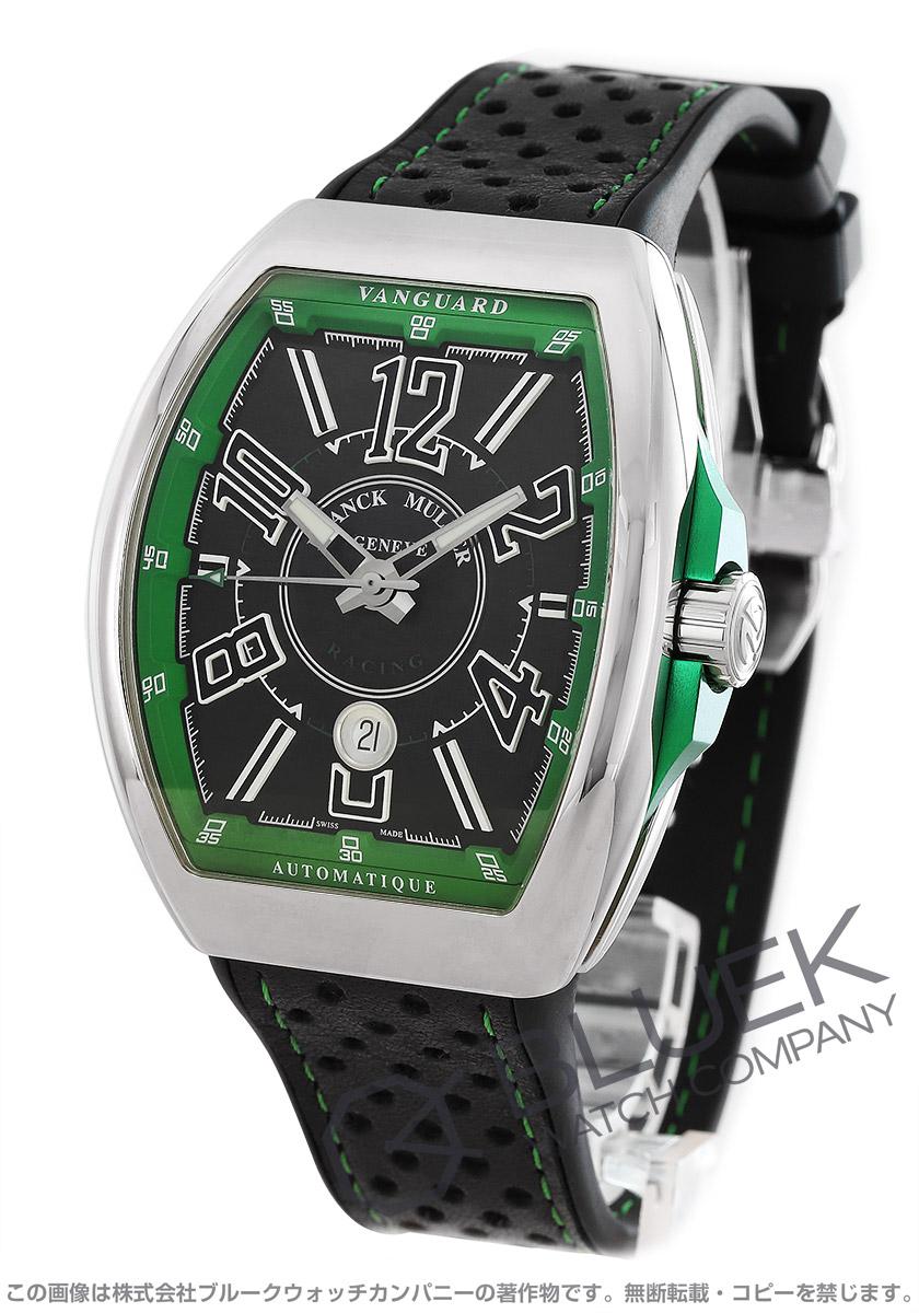 フランクミュラー ヴァンガード レーシング 腕時計 メンズ FRANCK MULLER V 45 SC DT RCG AC VR[FMV45SCRCGPLSSGRBKLZBK]
