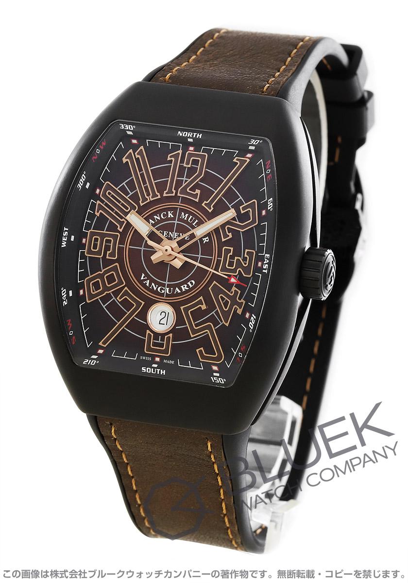 フランクミュラー ヴァンガード 腕時計 メンズ FRANCK MULLER V 45 SC DC DT CIR TT NR BR BN[FMV45SCTINRBRLZBR]