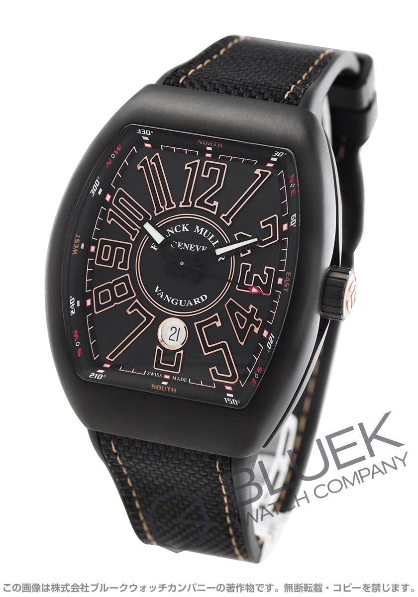フランクミュラー ヴァンガード 腕時計 メンズ FRANCK MULLER V 45 SC DT TT NR BR 5N