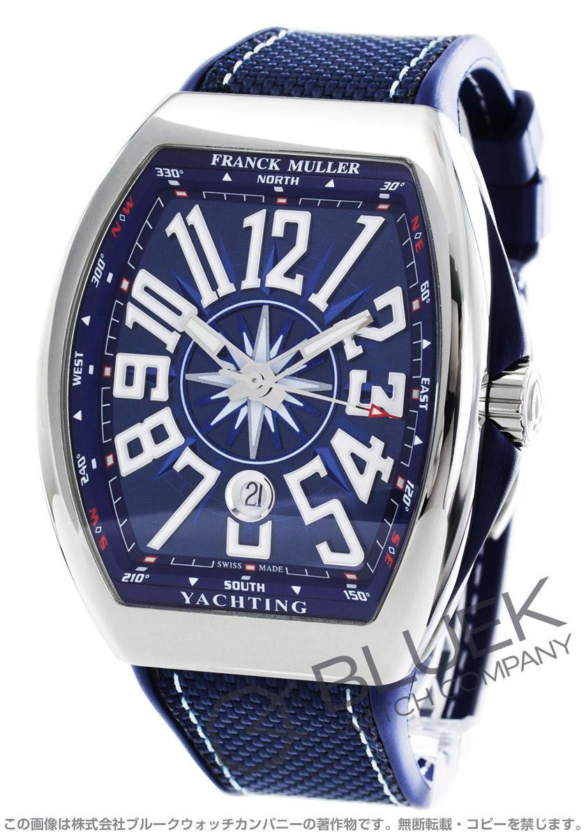 フランクミュラー ヴァンガード ヨッティング 腕時計 メンズ FRANCK MULLER V 45 SC DT YACHTING