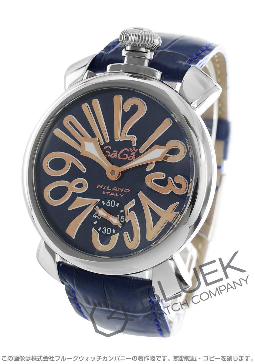 online store 85876 b30a8 ガガミラノ マヌアーレ48MM 腕時計 メンズ GaGa MILANO 5010.05S