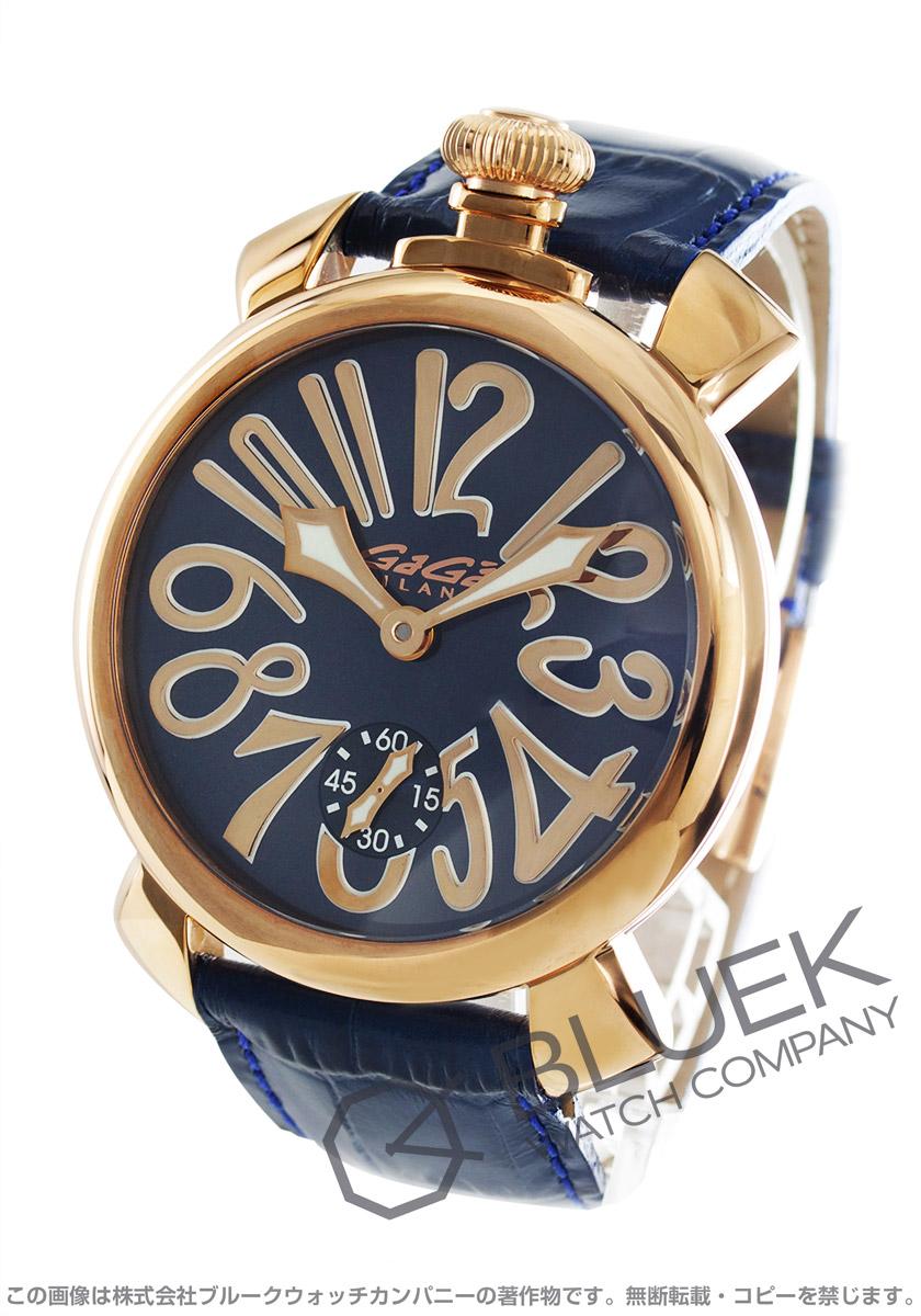new style 9872e fad27 ガガミラノ マヌアーレ48MM 腕時計 メンズ GaGa MILANO 5011.05S