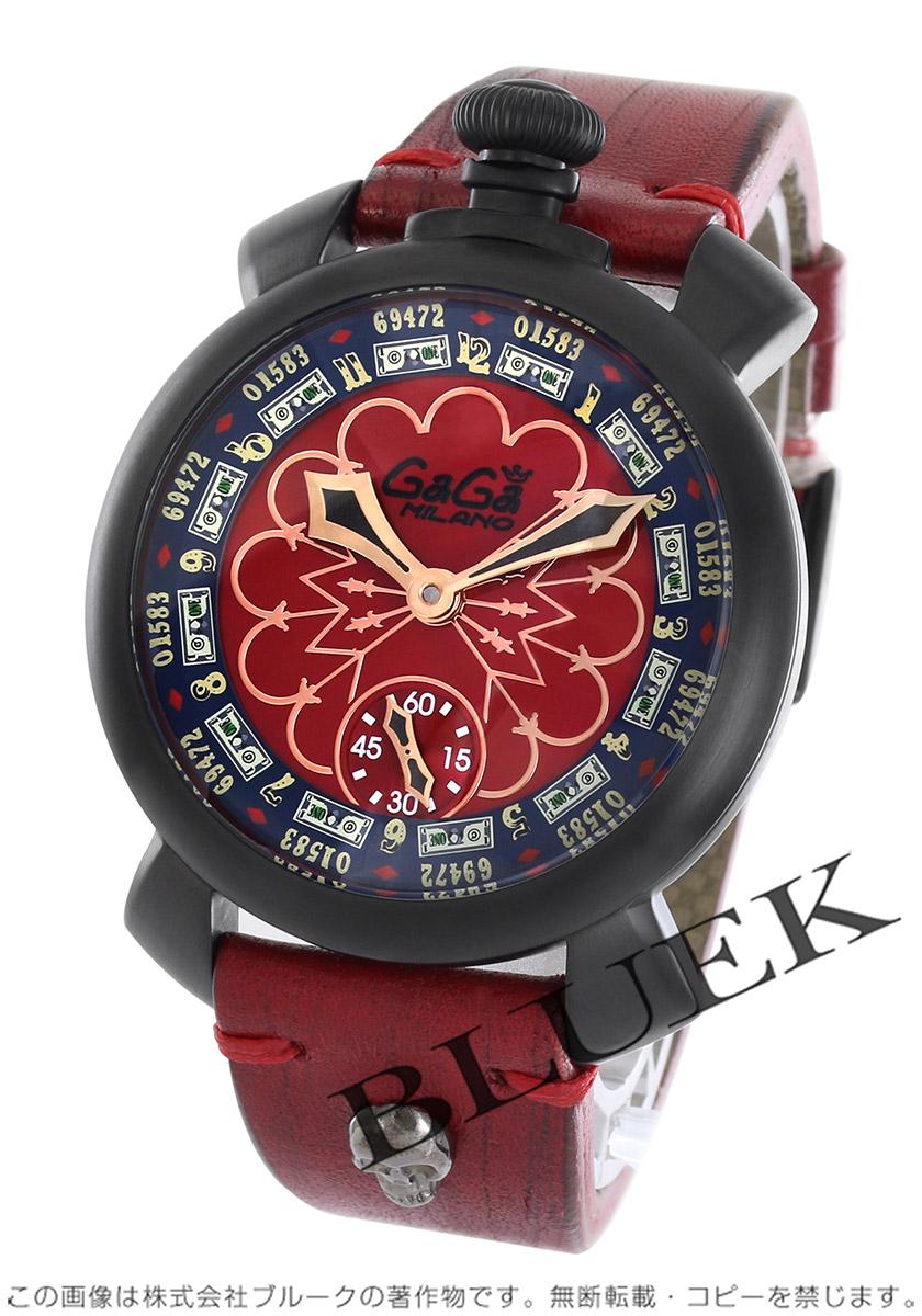 ガガミラノ マヌアーレ48MM ラスベガス 世界限定300本 腕時計 メンズ GaGa MILANO 5012.LAS VEGAS.02