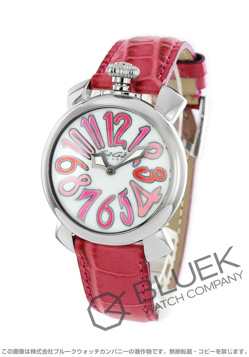 ガガミラノ マヌアーレ40MM 腕時計 ユニセックス GaGa MILANO 5020.6