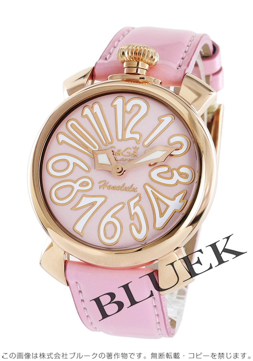 hot sale online 2cd00 74507 ガガミラノ マヌアーレ40MM ホノルル限定300本 腕時計 ユニセックス GaGa MILANO 5021.L.E.HO.1
