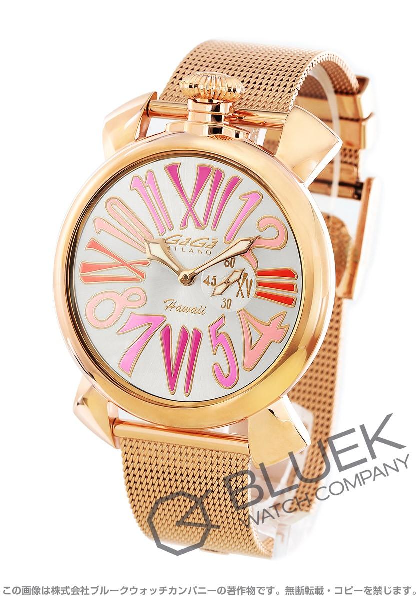 ガガミラノ GaGa MILANO 腕時計 スリム46MM ハワイモデル 世界限定300本 ユニセックス 5081.LE.HA.02