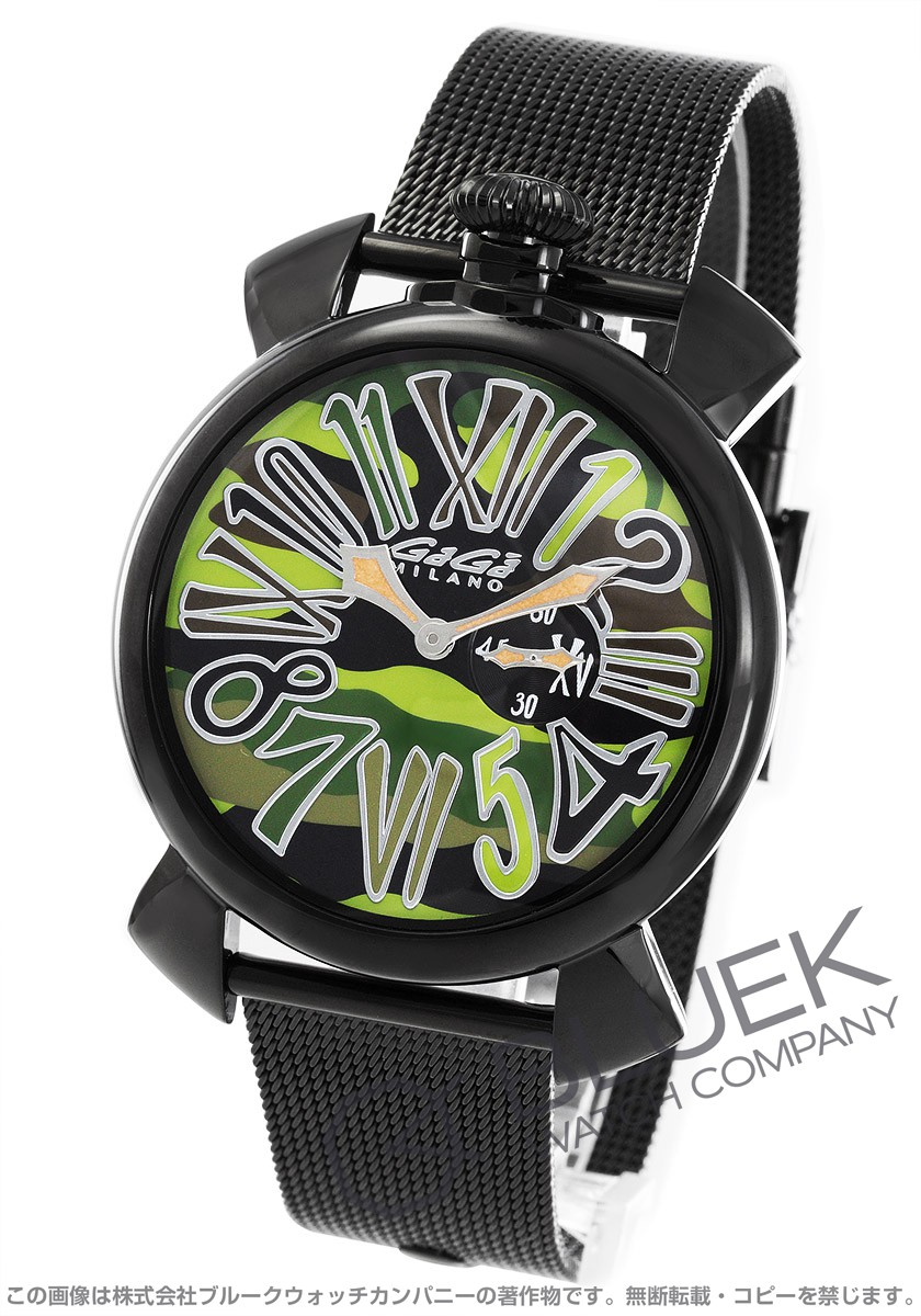 ガガミラノ GaGa MILANO 腕時計 スリム46MM 日本限定 メンズ 5082.3