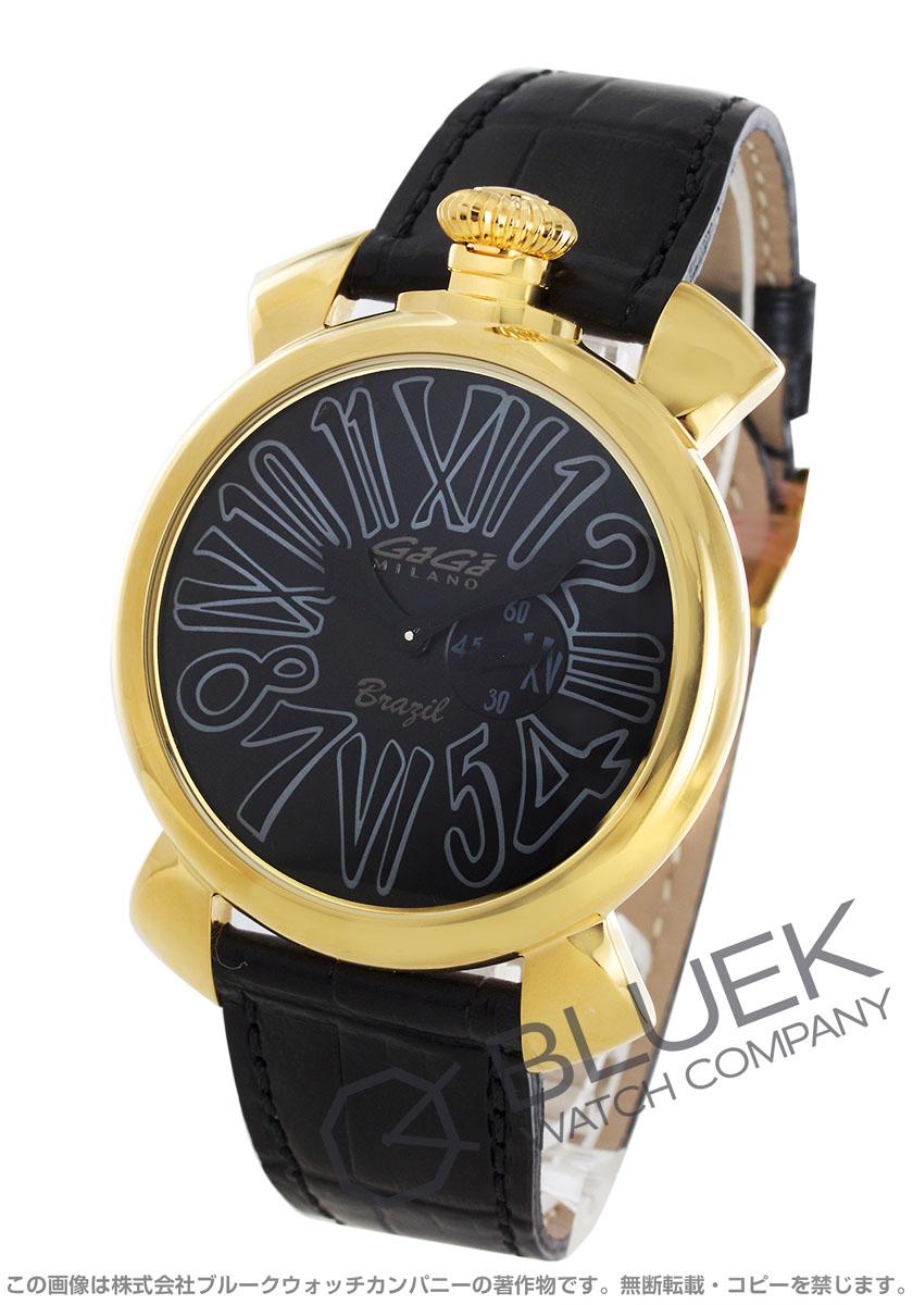 ガガミラノ スリム46MM ブラジルモデル 腕時計 メンズ GaGa MILANO 5083.SP.BR01