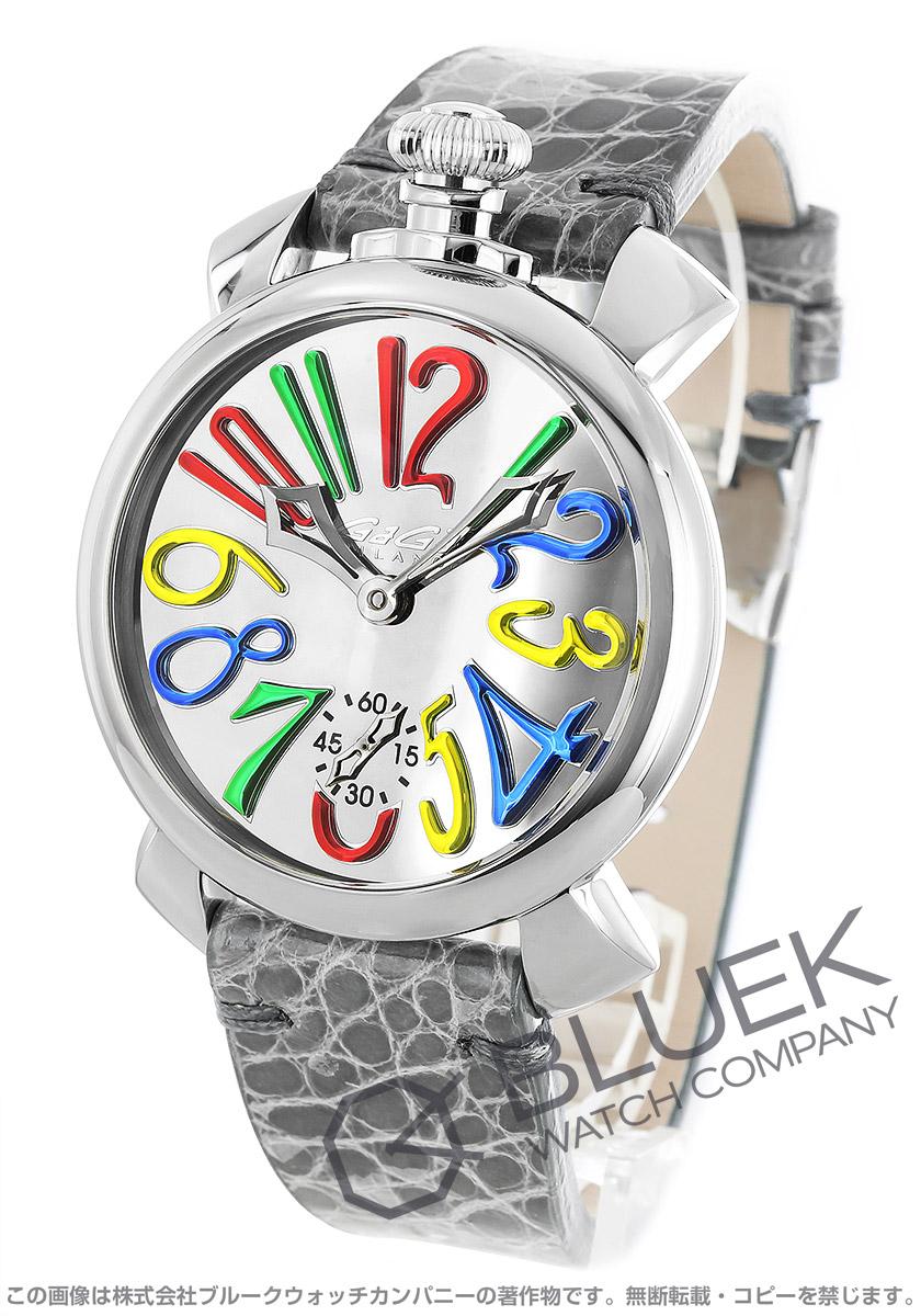 ガガミラノ マヌアーレ48MM ミラー 世界限定500本 腕時計 メンズ GaGa MILANO 5210.MIR.02