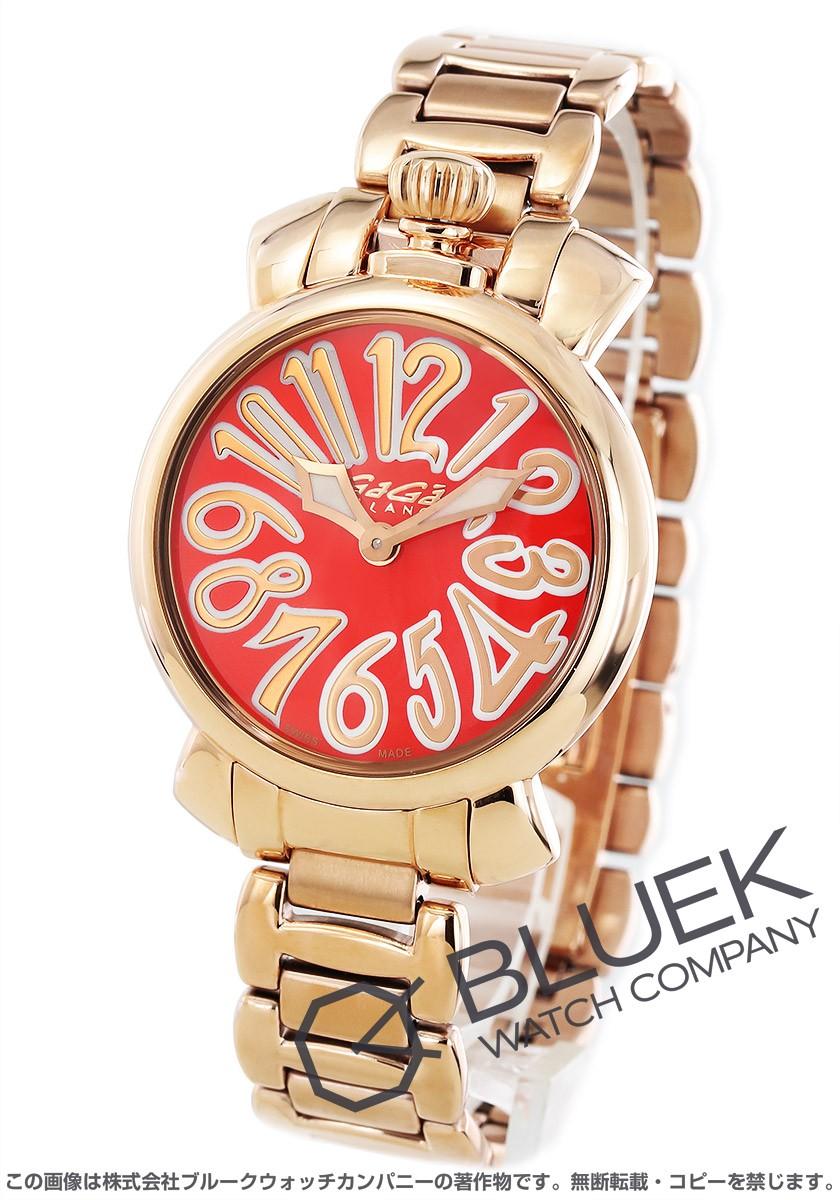 wholesale dealer 95264 e4a98 ガガミラノ マヌアーレ35MM 腕時計 レディース GaGa MILANO 6021.6