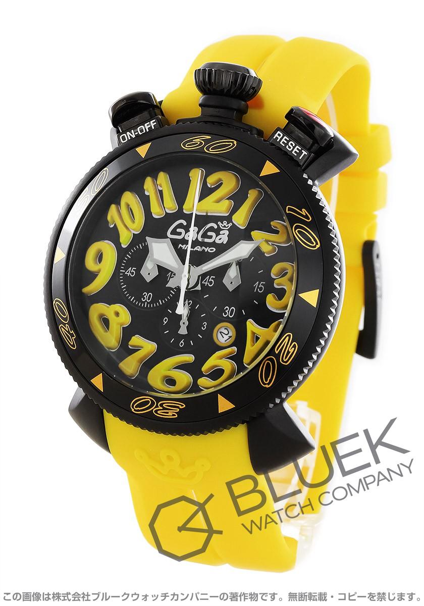 ガガミラノ クロノ48MM クロノグラフ 腕時計 メンズ GaGa MILANO 6054.4