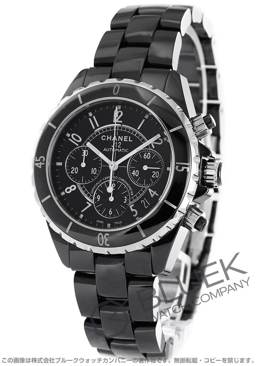 シャネル J12 クロノグラフ 腕時計 メンズ CHANEL H0940