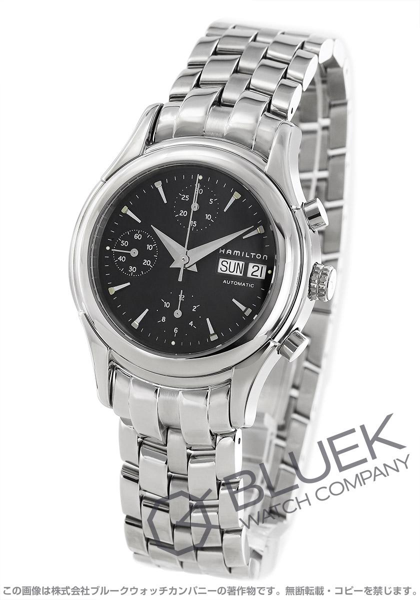 ハミルトン アメリカンクラシック リンウッド クロノグラフ 腕時計 メンズ HAMILTON H18516131