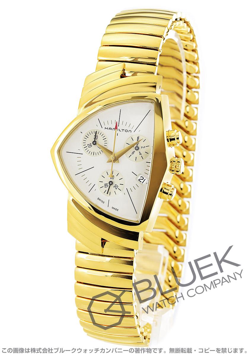 ハミルトン ベンチュラ クロノグラフ 腕時計 メンズ HAMILTON H24422151